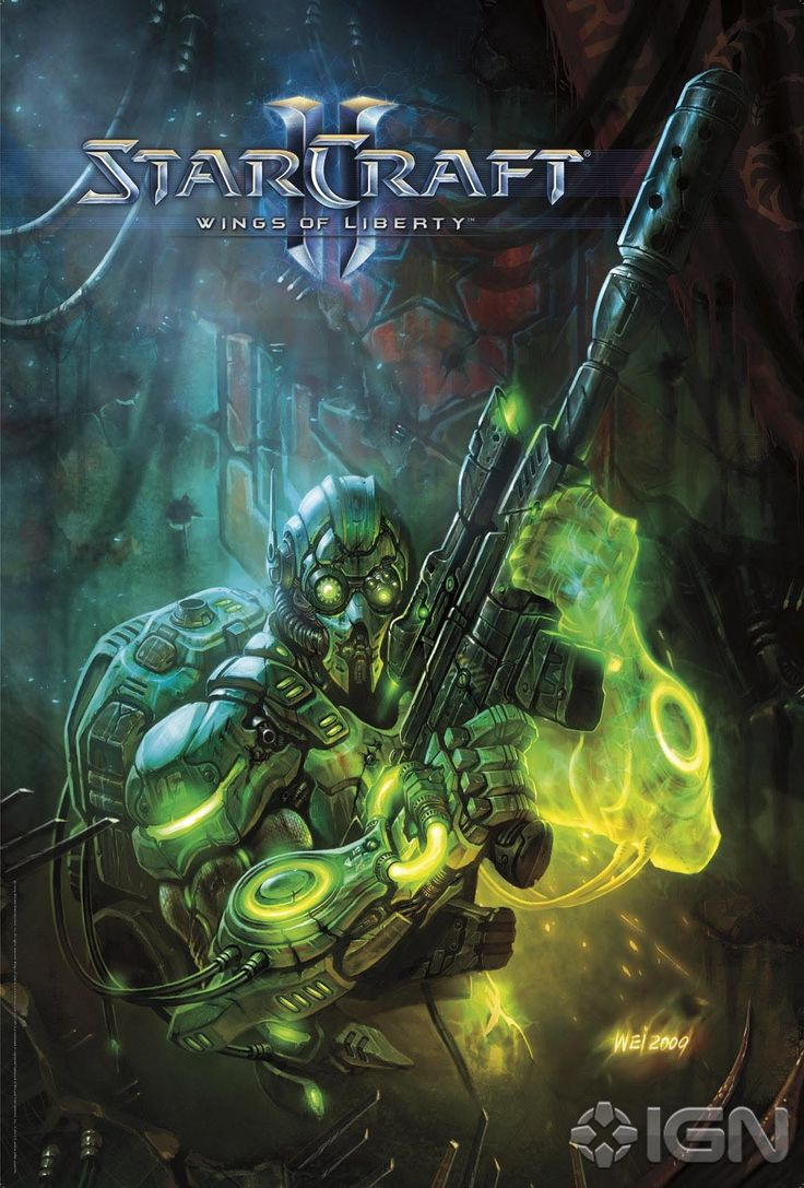 StarCraft II 2 Video Game Posters  (Ghost: Wings of Liberty)