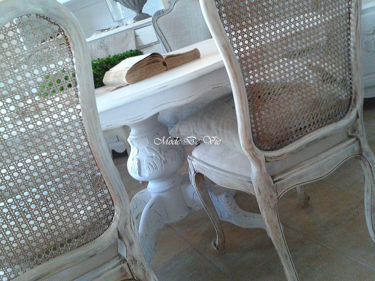 Stół w bieli - Nasze meble - Nasza galeria - Mode De Vie