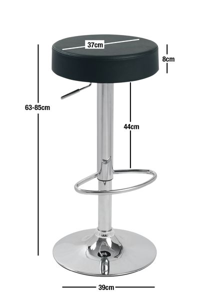 Buy Cosmo Gaslift Barstool White Online at Factory Direct Prices w/FAST, Insured, Australia-Wide Shipping. Visit our Website or Phone 08-9477-3441