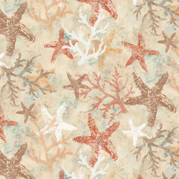 17 best images about beach on pinterest starfish canvas for Children of the sea fabric
