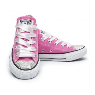 Converse Crystal Pink Silver