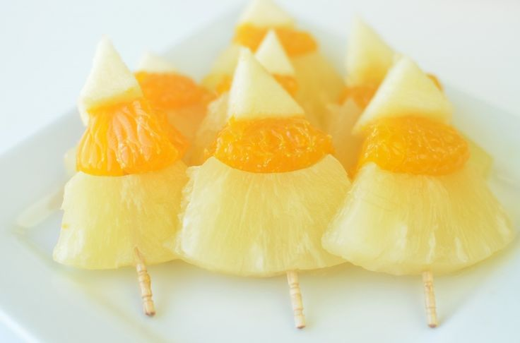 Nature's Candy (pineapple, mandarin oranges, and bananas)