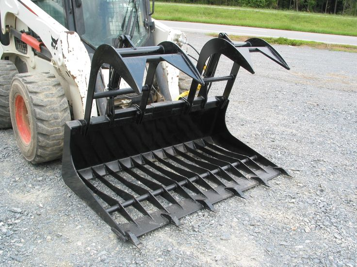 Smallest Garden Tractor With Bucket : Ideas about compact tractor attachments on pinterest