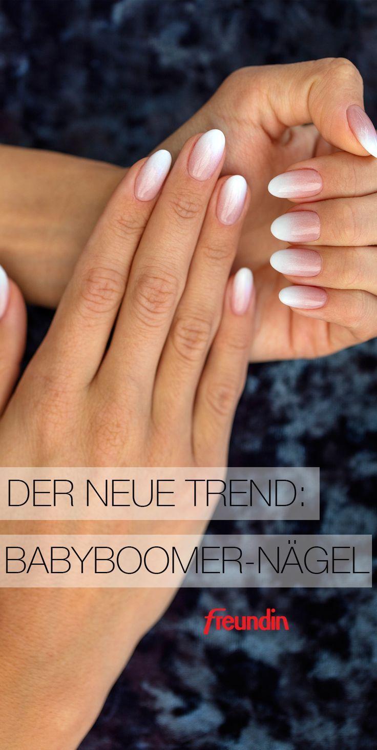 Der neue Beauty-Trend auf Pinterest: Babyboomer-Nägel