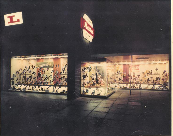Bata East Tilbury Community House Shoe Shop refurbished Oct 1959 - Architect Bronek Katz