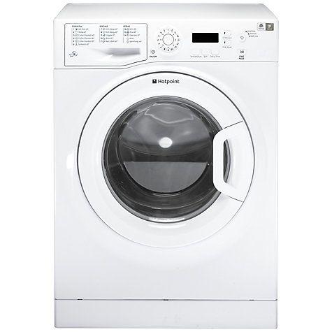 £225 42.5cm deep Buy Hotpoint Aquarius WMAQF621P Slim Depth Freestanding Washing Machine, 6kg Load, A+ Energy Rating, 1200rpm Spin, White Online at johnlewis.com