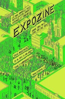 Expozine-Montreal's enormous small press fair