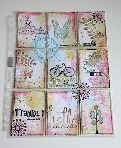 Pocket letter réalisée par Cindy DT ISDesign http://infinimentblog.canalblog.com/archives/2016/04/11/index.html