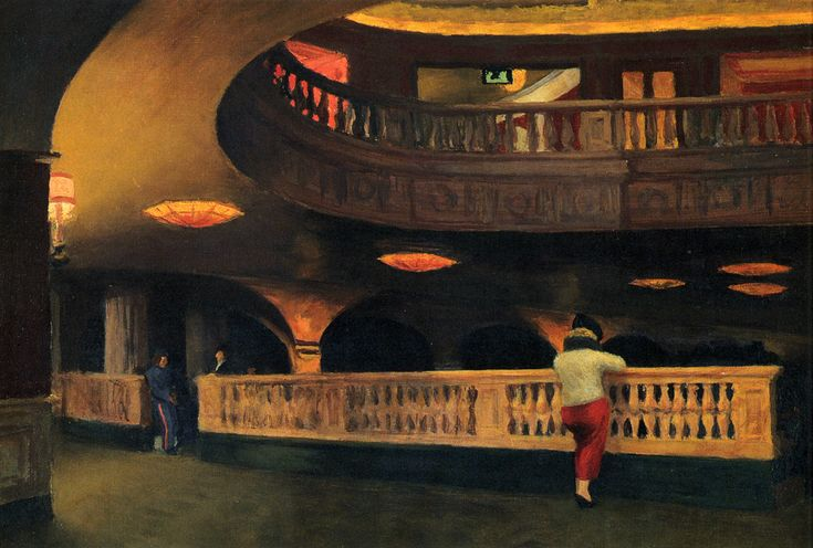 Edward Hopper — Sheridan Theatre, 1937, Edward HopperSize:...