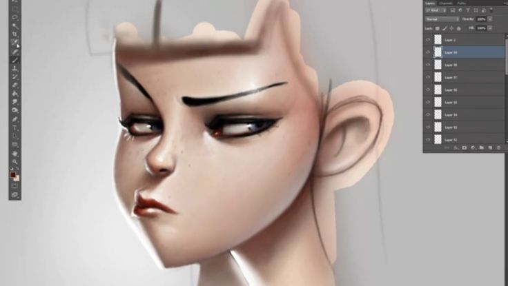 Great tutorial Creating a Cartoon Face with Serge Birault - IT'S ART