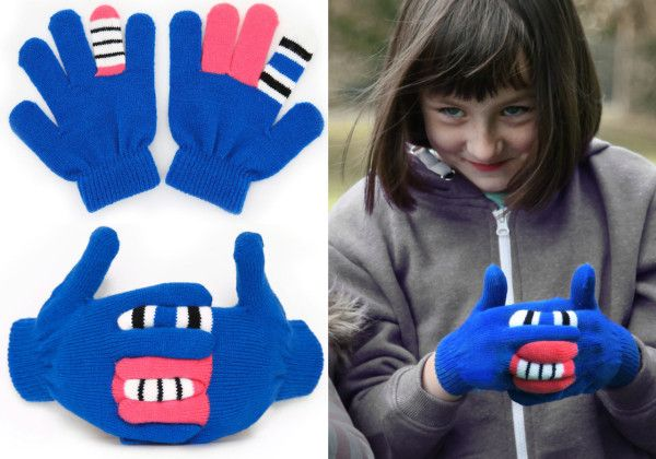 Interactive Monster Gloves by Warmsters
