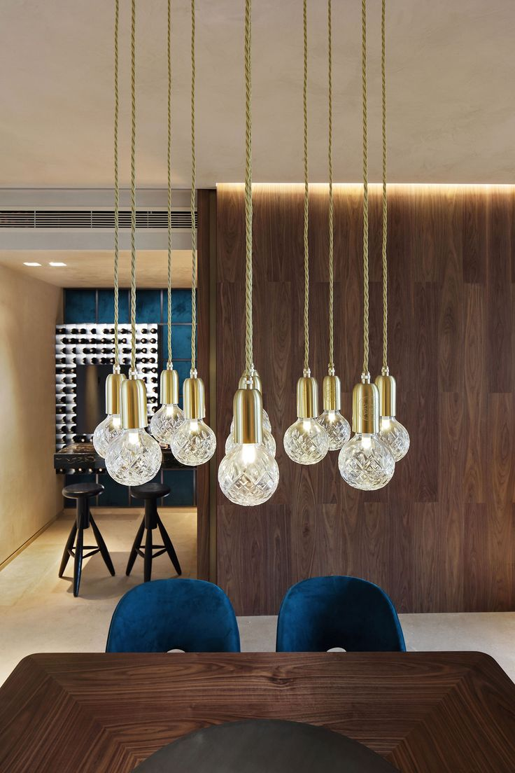 Western Design And Eastern Lifestyle Interplay In A Family Apartment China Lighting DesignLighting IdeasModern