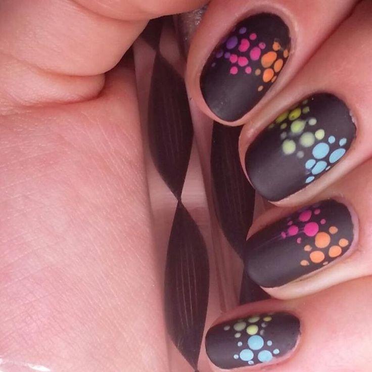 16 Super Cool Ombre Gradient Nail Art Tutorials: #badgirlnails • Instagram Photos And Videos