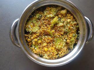 AISHU KITCHEN: Bitter gourd paruppu usli(stir fry)