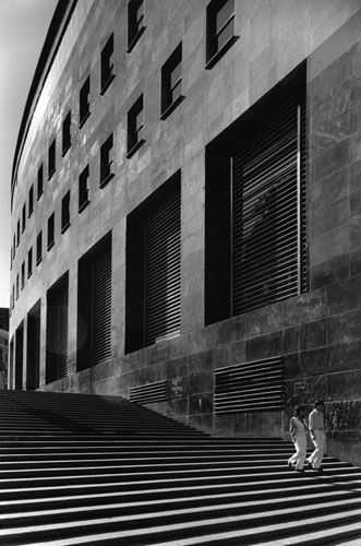 Gabriele Basilico 1982 - Palazzo delle Poste di Napoli (1928-1936)