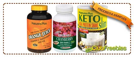 FREE Chewable Vitamin C, Chewable Cranberry, Vanilla Shake Samples (Natures Plus) - http://www.clubfreebies.com/free-sample-products/free-chewable-vitamin-c-chewable-cranberry-vanilla-shake-samples-natures-plus/