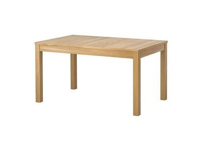 Spisebord, Massivtræ