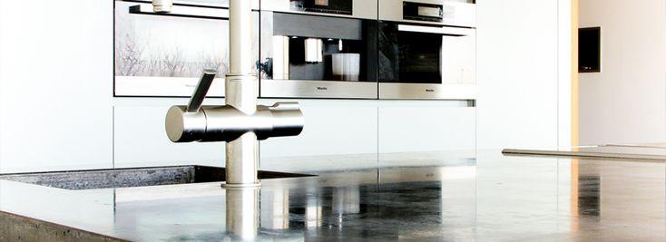ARTconcrete betonnen aanrechtbladen en wasbakken, terrazzo en marmerrestauratie « Betonnen aanrechtbladen, restauratie terrazzo en marmeren vloeren ARTconcrete betonnen aanrechtbladen en wasbakken, terrazzo en marmerrestauratie