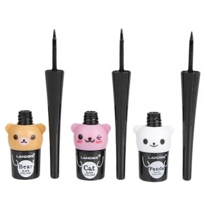Cute Cartoon Bear 5G Liquid Eyeliner Black