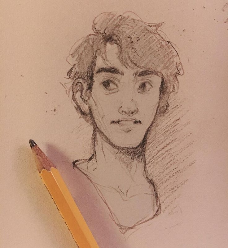 Working on faces one of tonights small sketches. Good night for now! by cyarine