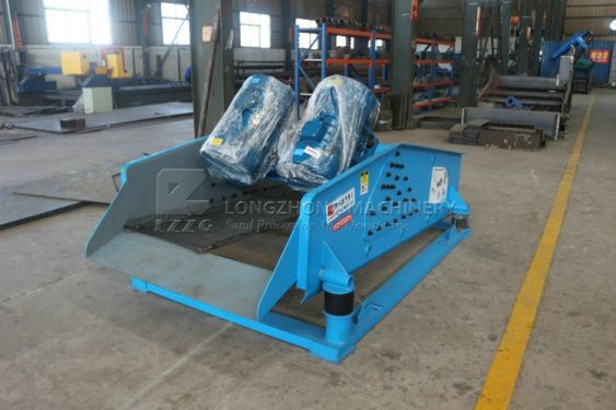 High quality dewatering screen from LZZG, polyurethane screen deck or steel wire mesh screen deck optional