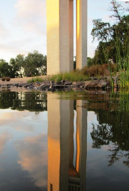 National Carillon reflection - Canberra