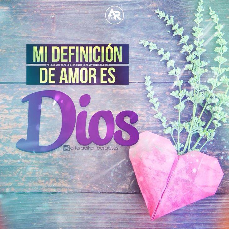 1 Juan 4:8 El que no ama, no ha conocido a Dios; porque Dios es amor. ♔