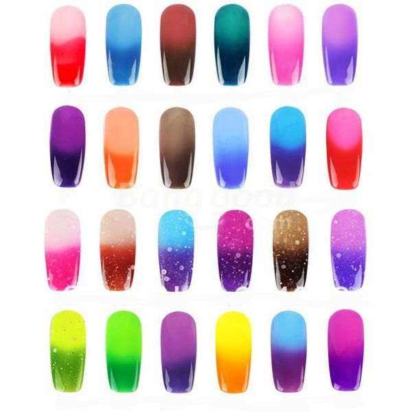 Soak Off Uv Gel Nail Polish Gradual Temperature Color Changing Also Available On Ebay Nails In 2018 Pinterest And Art