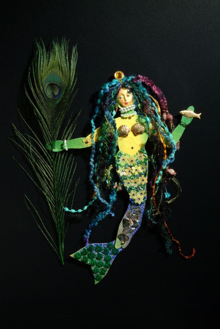 Heather Crossley - SEA ANGEL - Paper Art Doll