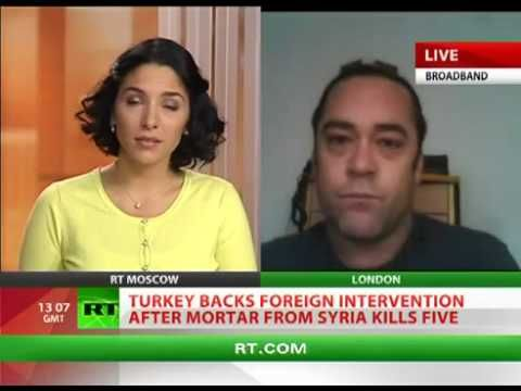 West Use Terrorists in Turkey to Bait Syria as with Soviets in Afghanistan