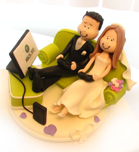 XBox! If I was having a cake at my wedding this would be on top of it!!!!