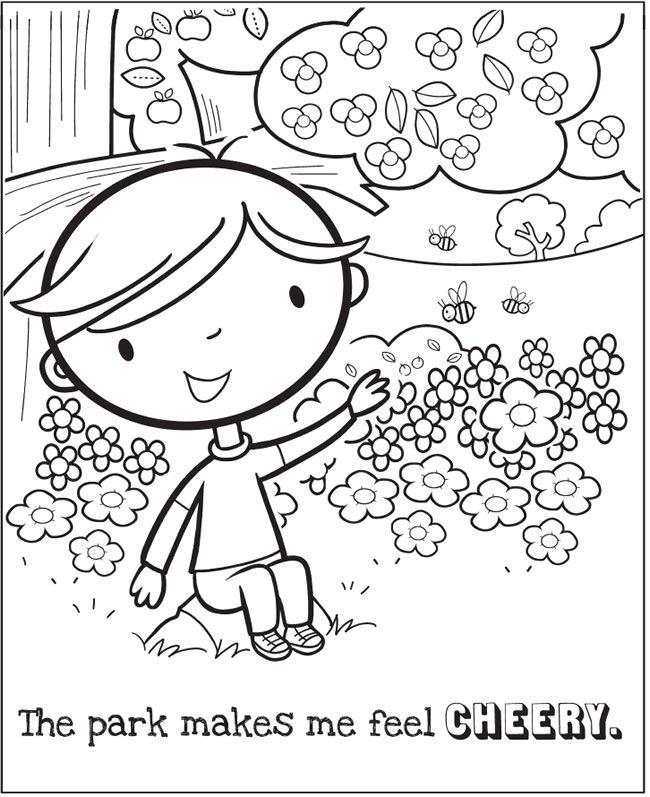 feelings coloring book - Feelings Coloring Book