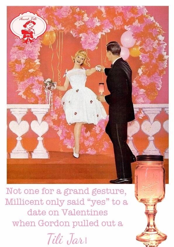 Tili jars for Valentines