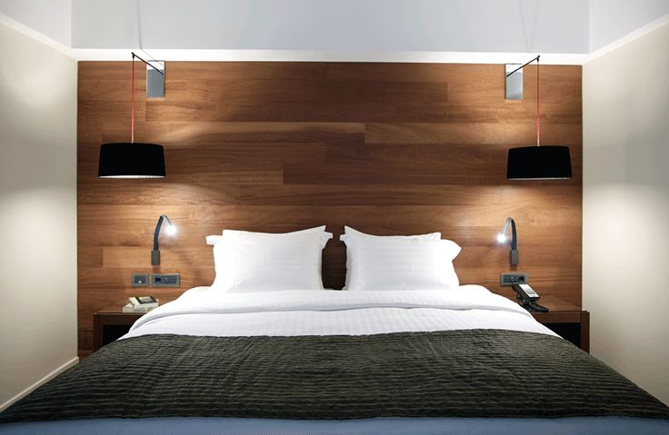 Double bed of Samaria Hotel's superior rooms. #Chania #Accommodation #Crete