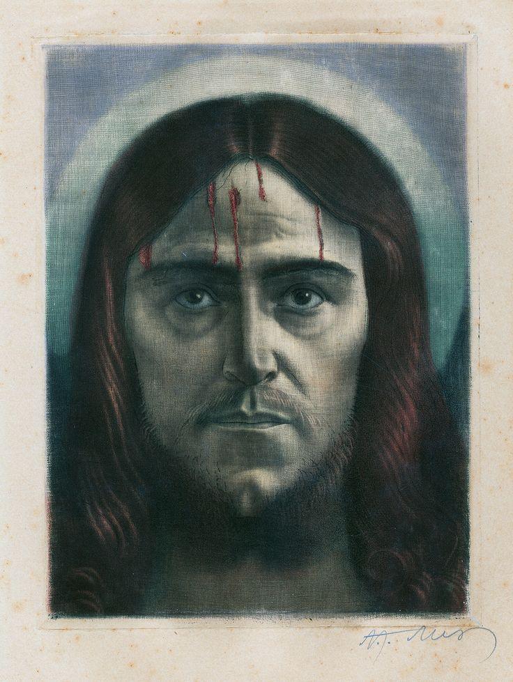 Alex Adolf Jelínek: Kristus (Jesus Christ), 1. polovina 20. století