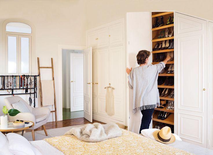 M s de 25 ideas incre bles sobre interior armario for Armario zapatero gran capacidad
