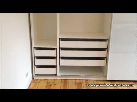 IKEA Pax Tonnes Sliding Door Wardrobe Design