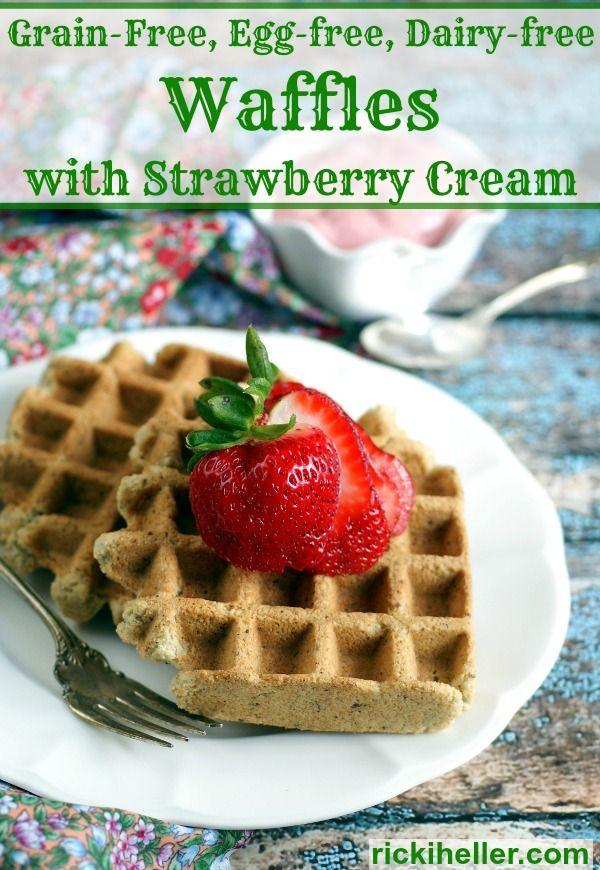... gluten-free, #vegan #grain-free and #sugarfree! With easy strawberry