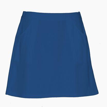 Coloured Golf Skirt in blue