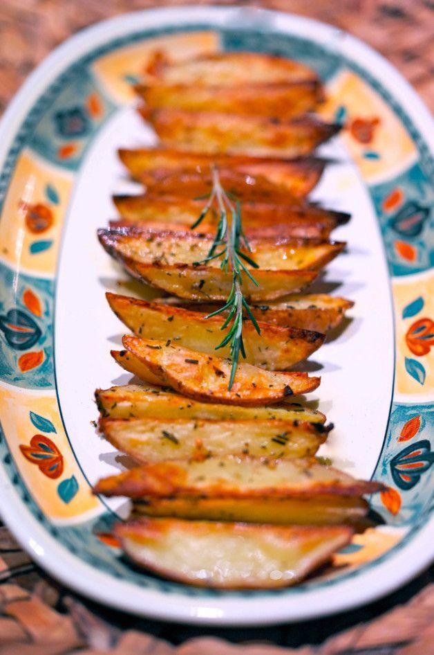 Печеный картофель дольками (belonika)