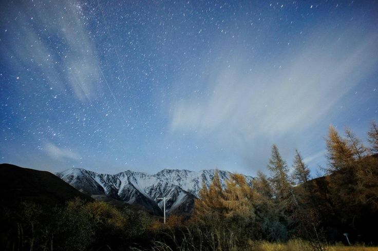 The Glentanner Mount Cook Night Sky captured by a very clever guest!