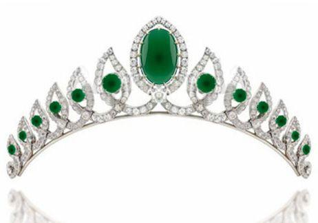 Tiara Online Diamond 10.00 Ct Solid Gold Diamond Crown