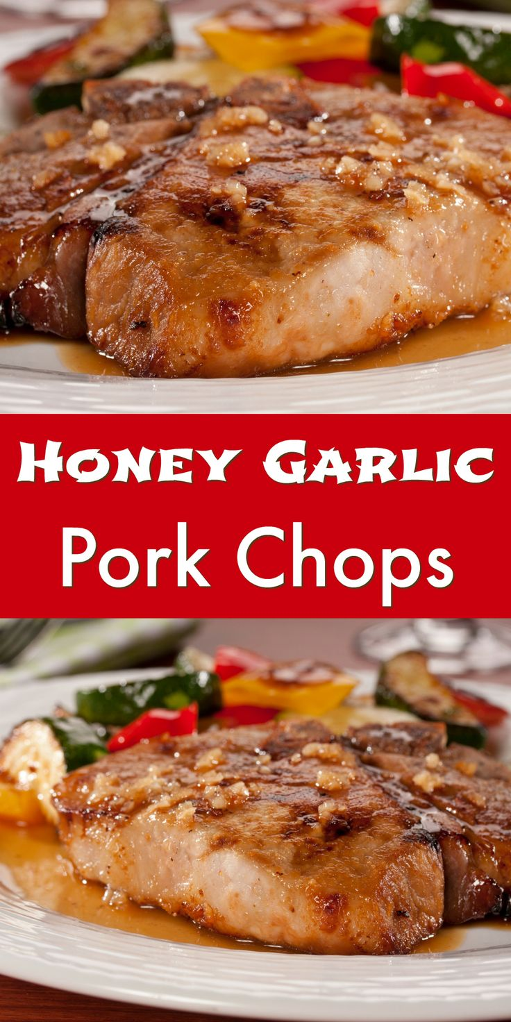 Honey Garlic Pork Chops puts a healthy spin on the traditional Chinese restaurant dish!