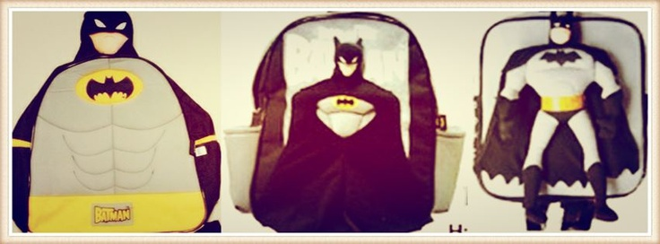 กระเป๋าเป้แบทแมน 3 มิติ สะพายไปเที่ยว หรือสะพายไปโรงเรียน เท่ห์มากมาก