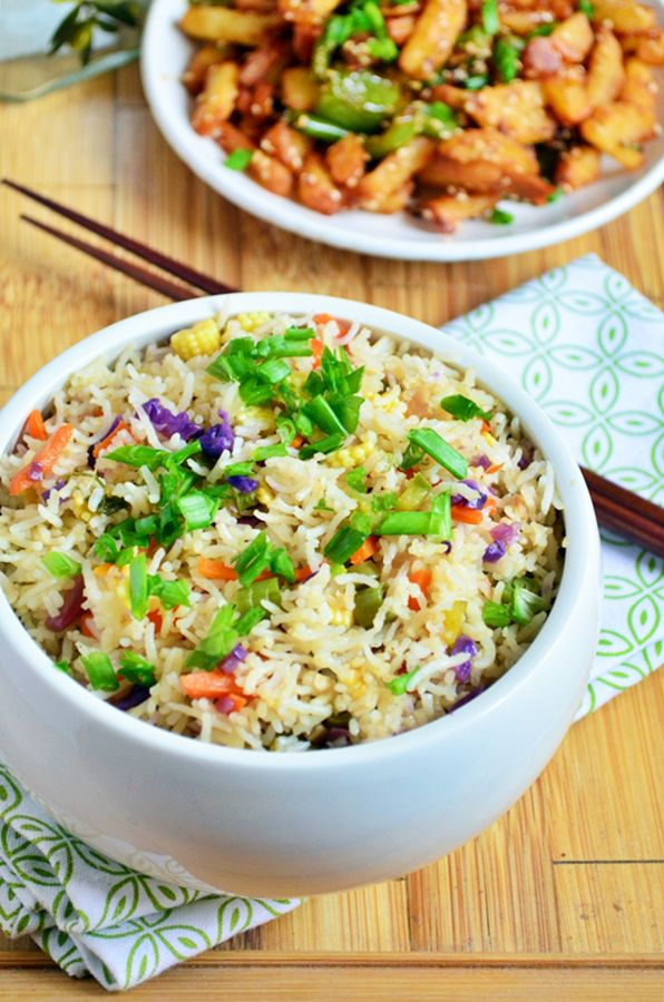 {New post} Restaurant style vegetable rice recipe: Very delicious and flavorful Indo chinese fusion fried rice made the restaurant way,recipe @ http://cookclickndevour.com/2015/03/restaurant-style-vegetable-fried-rice-recipe.html