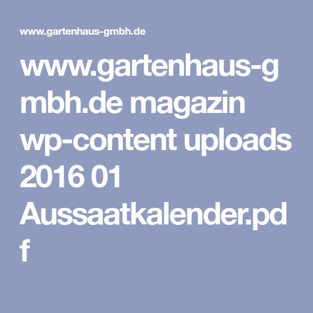 www.gartenhaus-gmbh.de magazin wp-content uploads 2016 01 Aussaatkalender.pdf