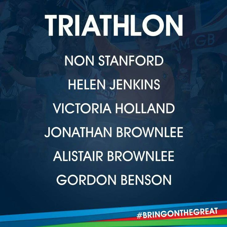 Triathlon - Team GB Rio 2016