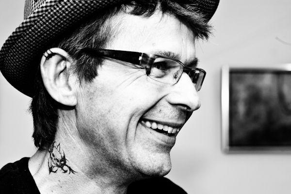 Contemporary fine artist Svend Høgh (born 1966, Denmark)  Photo © Niels Berg, 2012