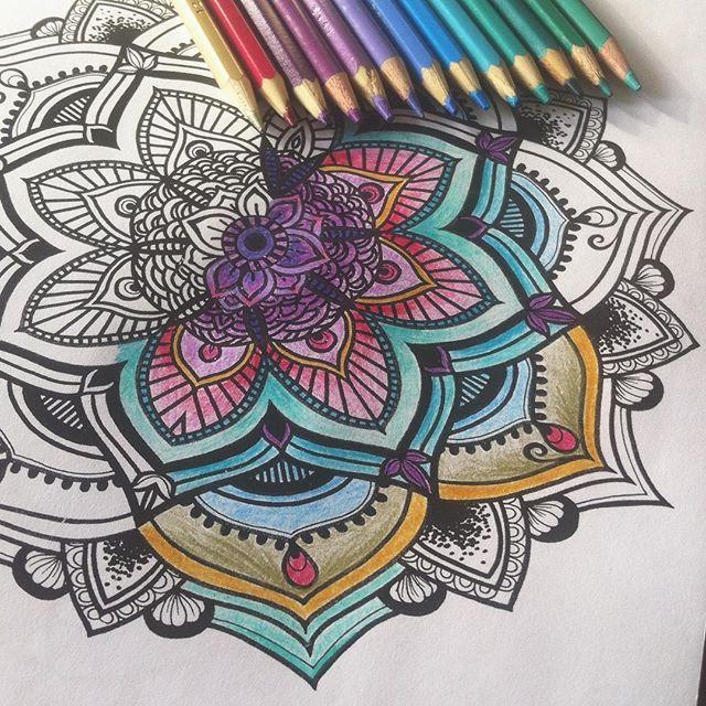 ️ #coloring #coloringbooks #mandalaart #mandalas  #fabercastell #doodle #drawing #love #coloringbook #arttherapy #mandalatattoo #coloring #mandala #evelynillustrationd #coloringbookforadults #mandalalove #colors #mandalas #mindfulness #chill #goodvibes #thebookofmandalas #tattooart #zentangle #felnőttszínező #szinezo #handdrawn #handmade #etsy #colouring #kleuren #colortherapy #mindfulness #zentangle