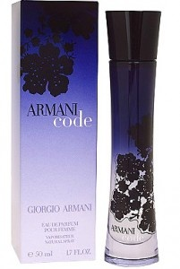 Smells so good..Armani Code for women